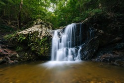Cascade Falls, at Patapsco Valley State Park, in Maryland.