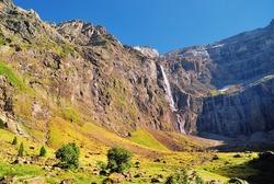 Cascade of Gavarnie Pirineos, France