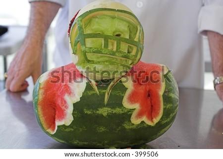 Casco dell'alimento della frutta - stock photo