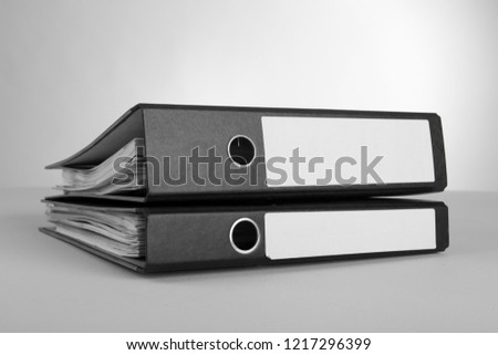 case binder in front of white background