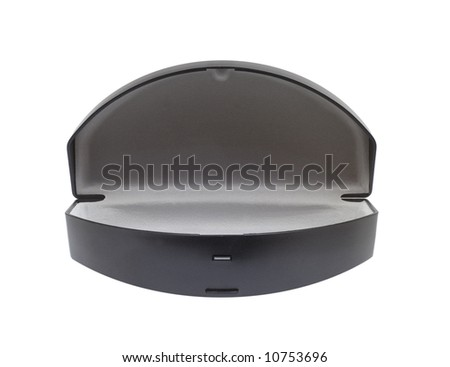 Case for sunglasses, isolated