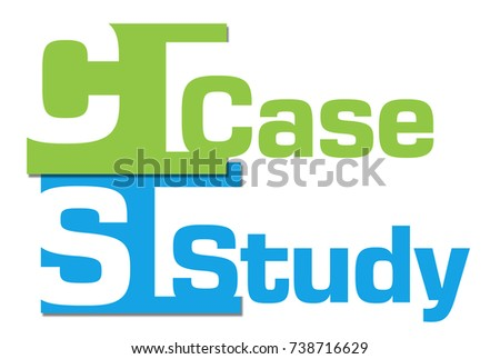 Case Study Abstract Colorful Stripes