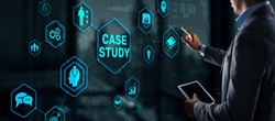 Case Study Education concept. Analysis of the situation to find a solution
