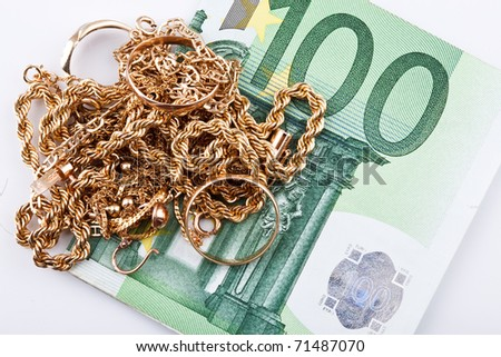 cash euro  for gold