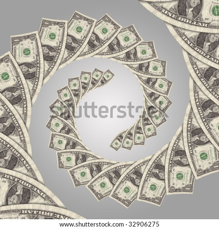 cash flow money spiral