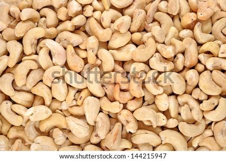Cashews background