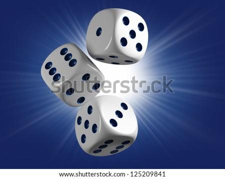 Casino cubes. Lucky strike