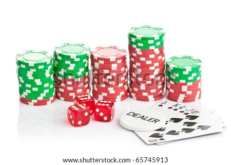 gambling games with dice and cards