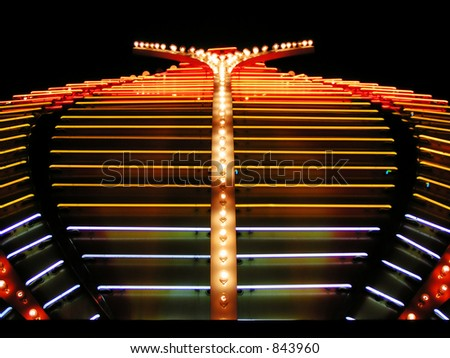 Casino neon lights