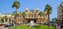Casino of Monte-Carlo in Monaco on the French Riviera