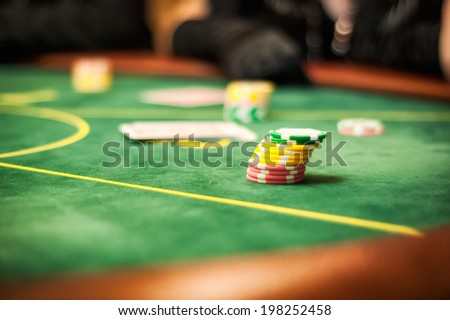 casino table for card games