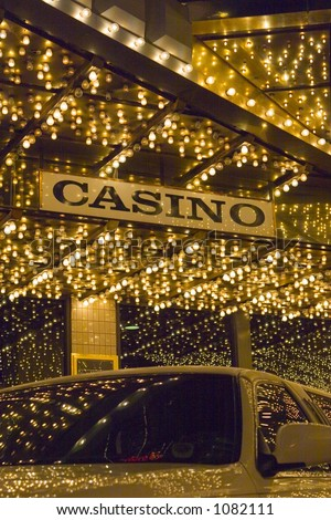 Casino with Limo and LIGHTS