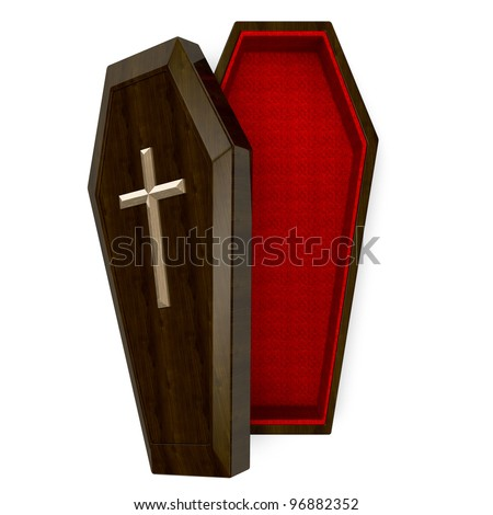 Casket Top View