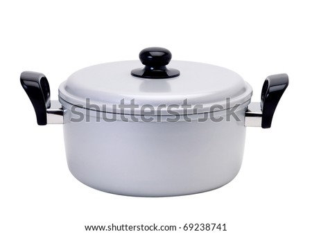 Casserole and curry pot