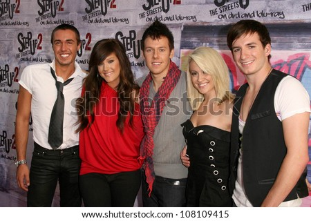 """Cast of """"So You Think You Can Dance""""  at the DVD Release Party for """"Step Up 2 The Streets"""". Avalon, Hollywood, CA. 07-14-08"""