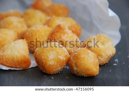 Castagnole, sweet fried Italian