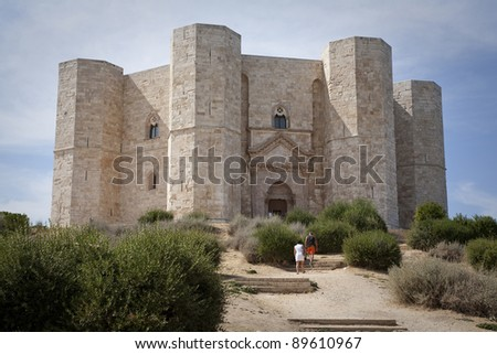 Castel del Monte is a 13th century castle situated in Andria in the Apulia region of southeast Italy. It was built by the Holy Roman Emperor Frederick II. Today a  UNESCO World Heritage Site.