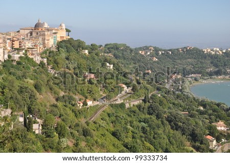 Castel Gandolfo, summer residence of the Pope