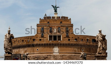 Castel Sant'Angelo in Rome, Italy #1434469370