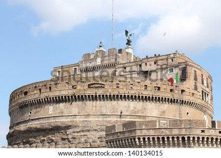 Castel Sant'Angelo (Mausoleum of Hadrian) in Rome #140134015