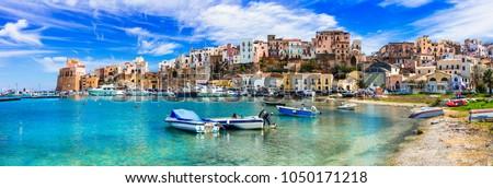 Castellammare del Golfo - beautiful coastal town in Sicily. Italy #1050171218