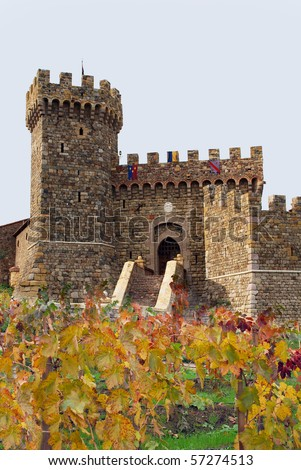 Castello di Amorosa, Napa, California wine country