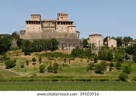 Castello di Torrechiara near Parma, Italy