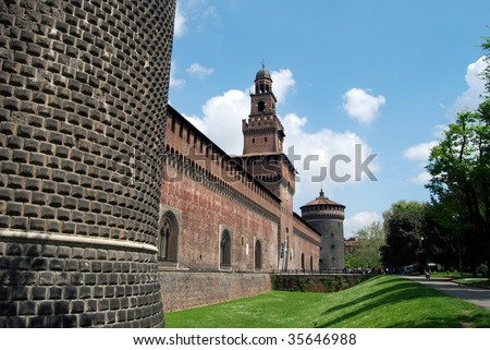 Castello Sforzesco (Sforza Castle) is a castle in Milan, Italy that now houses several of the city's museum and art gallery collections.