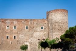 Castello Ursino – ancient castle in Catania, Sicily, Southern Italy
