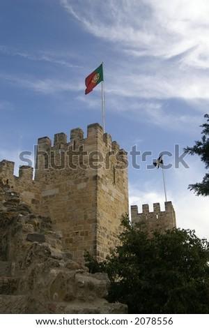 Castelo San Jorge, Lisbon Portugal