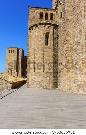 Castillo de Cardona is located in the town of Cardona, province of Barcelona, Spain. It houses the Parador de Turismo, Duques de Cardona Foto stock ©
