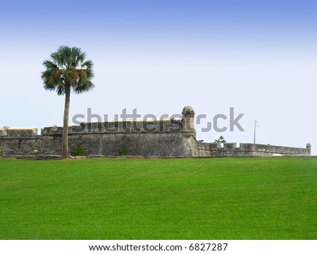 Castillo de San Marco - ancient fort in st. augustine florida