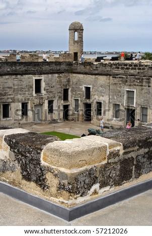 Castillo de San Marcos Courtyard, St. Augustine
