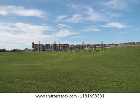 Castillo de San Marcos. Saint Augustine, Florida, United States. Historical fort. Old military architecture. #1181658331