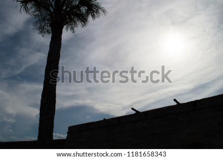 Castillo de San Marcos. Saint Augustine, Florida, United States. Historical fort. Old military architecture. #1181658343