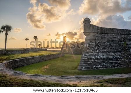 Castillo de San Marcos St. Augustine Florida #1219510465