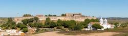 Castle and village of Castro Marim, Algarve, Portugal