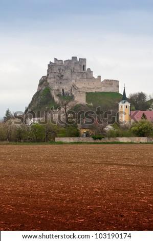 Castle Beckov in Slovakia
