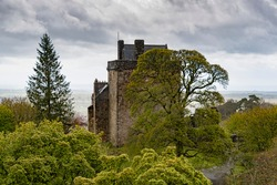 Castle Campbell, also known as Castle Gloom