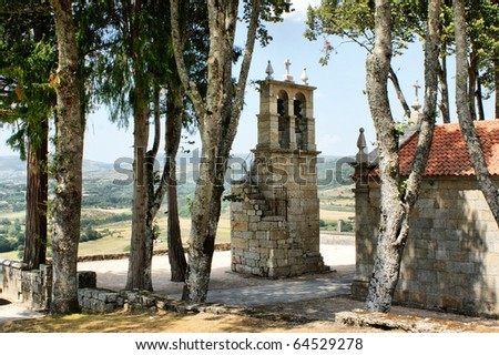 Castle church of Montalegre, north of Portugal