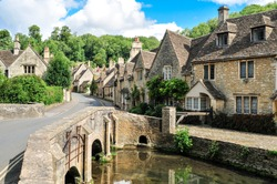 Castle Combe Cotswold Wiltshire England