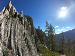Castle Crags in Northern California