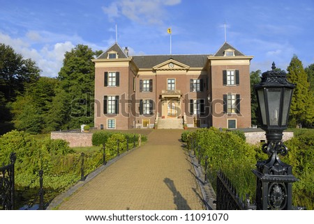 Castle Doorn in the Netherlands