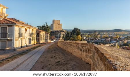 Shutterstock castle in ciudad rodrigo
