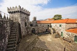 Castle in Vimianzo (s. XIII), La Coruna, Spain
