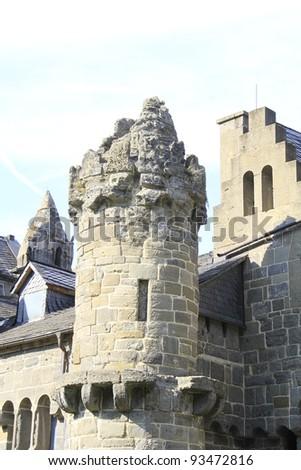 castle Loewenburg in Kassel in Germany - stock photo