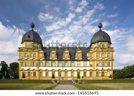 Castle near Bamberg (Franconia, Germany)