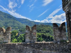 Castle of Bellinzona. The Castles of Bellinzona are a group of fortifications located around the town of Bellinzona, the capital of the Swiss canton of Ticino.