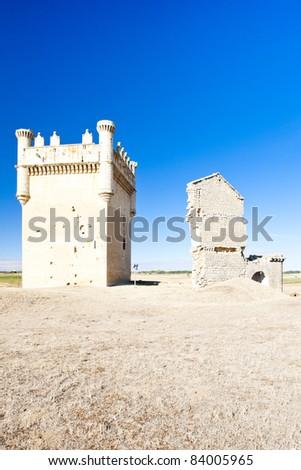 Castle of Belmonte de Campos, Castile and Leon, Spain