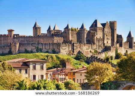 Castle of Carcassonne, France